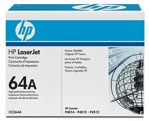Original HP Laserjet Toner CC364A black - reduziert