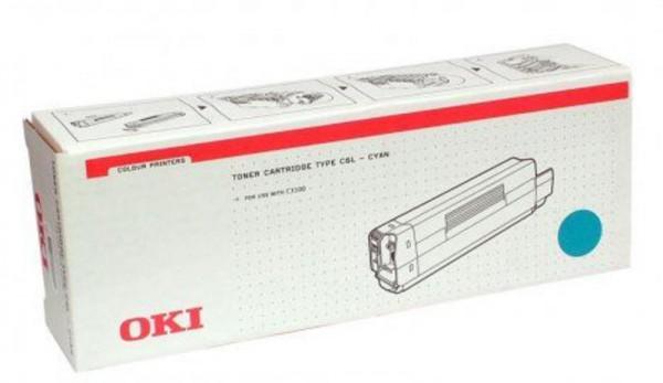 OKI Type C6L Toner 42804515 cyan - reduziert