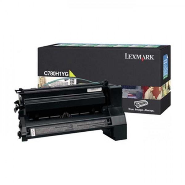 Original Lexmark Toner C780H1YG gelb- reduziert