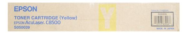 Original Epson Toner S050039 yellow - reduziert