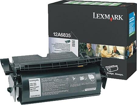 Original Lexmark Toner 12A6830 black - reduziert