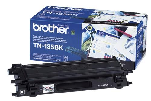 Original Brother Toner TN-135K black - C-Ware