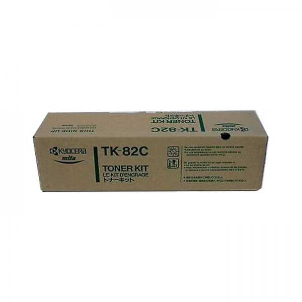 Original Kyocera Toner TK-82C cyan - Neu & OVP
