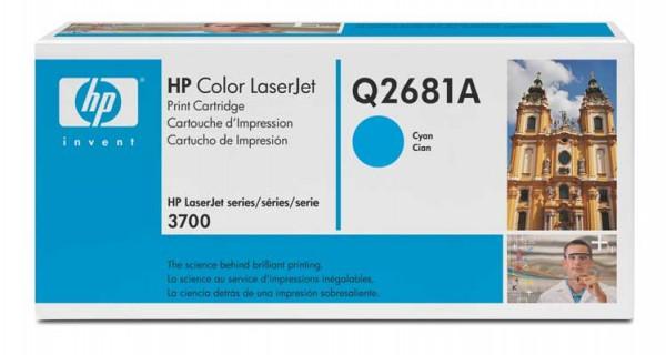 HP Color Laserjet Toner Q2681A cyan