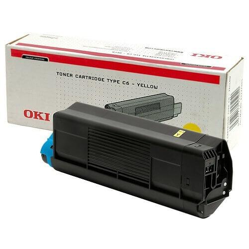 Original OKI Toner 42804505 yellow - reduziert