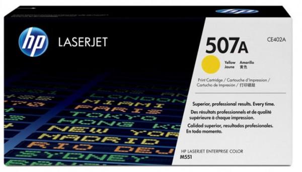 HP Laserjet Toner CE402A yellow