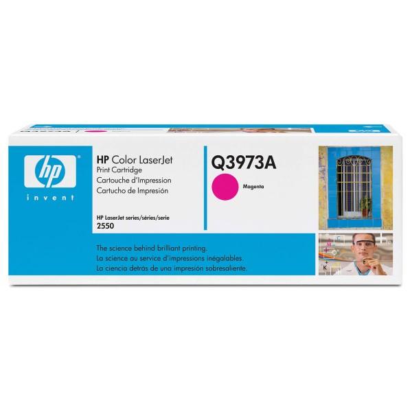 Original HP Color Laserjet Toner Q3973A magenta - reduziert