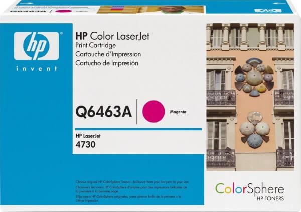 Original HP Color Laserjet Toner Q6463A magenta - reduziert
