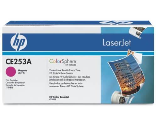 HP Color Laserjet Toner CE253A magenta - reduziert