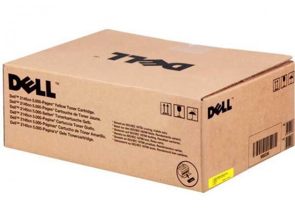 Original Dell M802K Toner 593-10375 yellow - Neu & OVP
