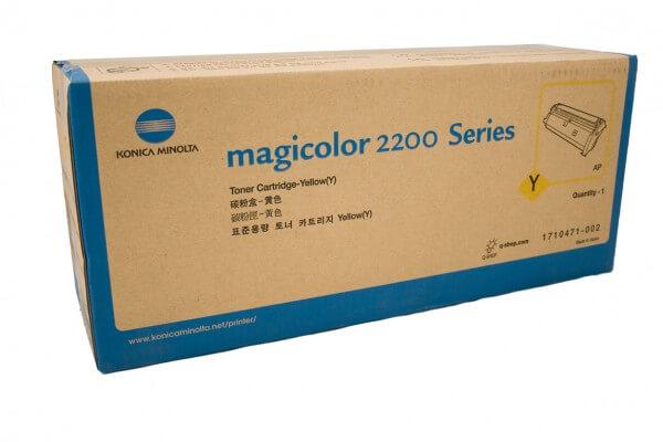 Konica Minolta Toner 1710471-002 yellow - reduziert