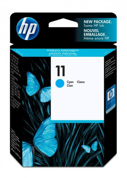 Original HP 11 Tinte C4836A cyan - Neu & OVP