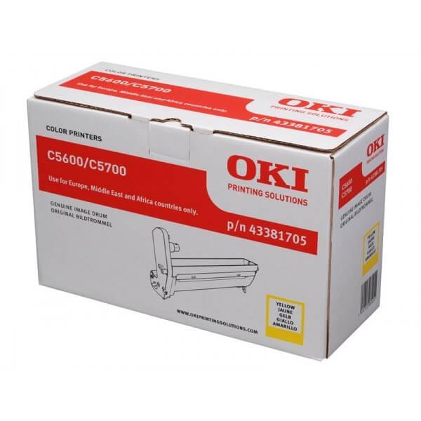 OKI Image Drum 43381705 yellow
