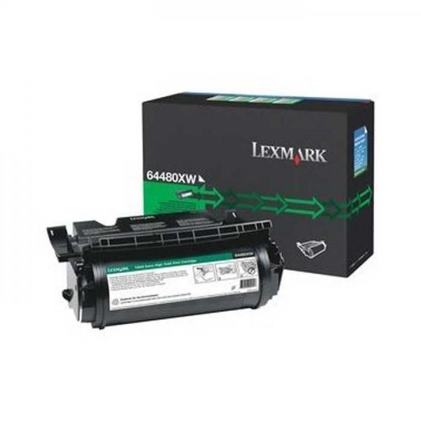 Lexmark Toner 64480XW black