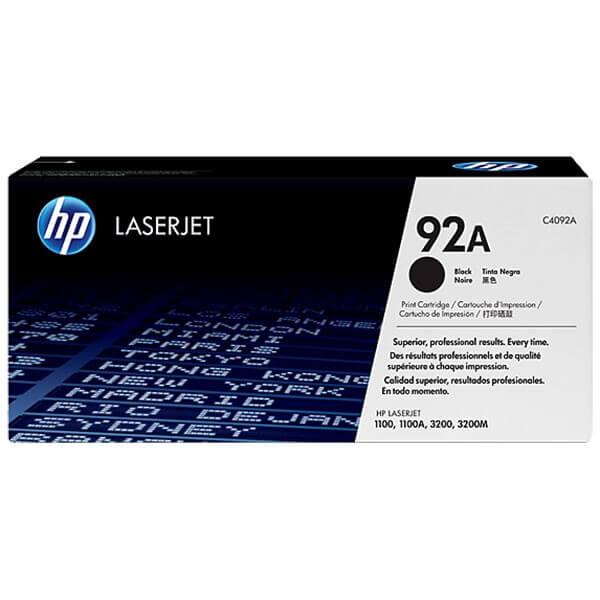 Original HP Laserjet Toner C4092A black - reduziert