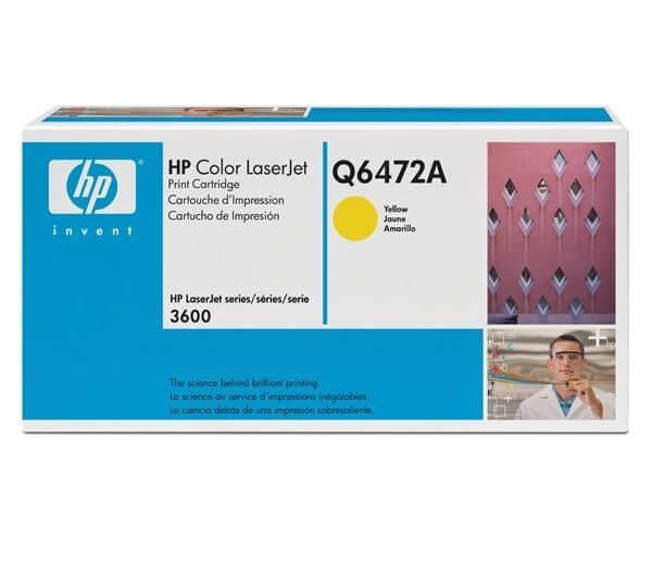 Original HP Color Laserjet Toner Q6472A yellow - reduziert
