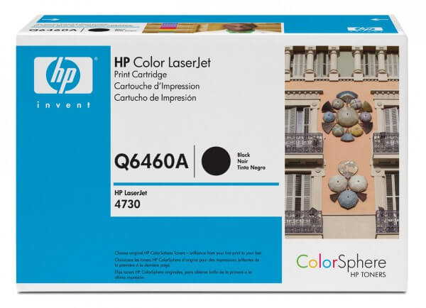 Original HP Color Laserjet Toner Q6460A black - Neu & OVP