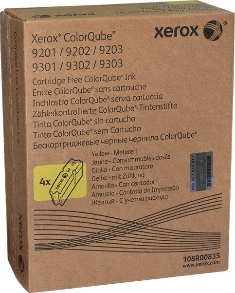 Orig. Xerox ColorQube Tintenstifte 108R00835 yellow