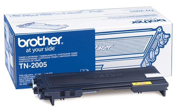 Original Brother Toner TN-2005 black - reduziert