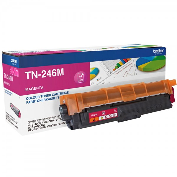 Original Brother Toner TN-246M magenta - Neu & OVP