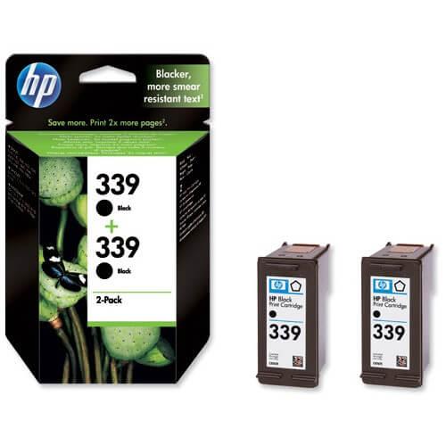 Original HP Tinte 339 Doppelpack C9504EE - Neu & OVP