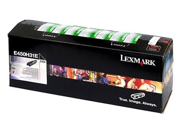 Original Lexmark Toner E450H31E black - Neu & OVP
