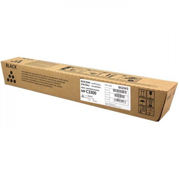 Ricoh MP C3300 Toner 842043 black