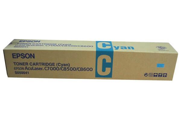 Original Epson Toner S050141 cyan - reduziert