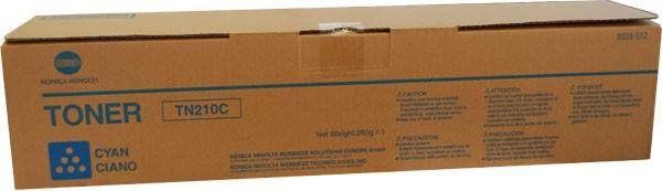 Original Konica Minolta Toner TN210C cyan 8938-512 - Neu & OVP
