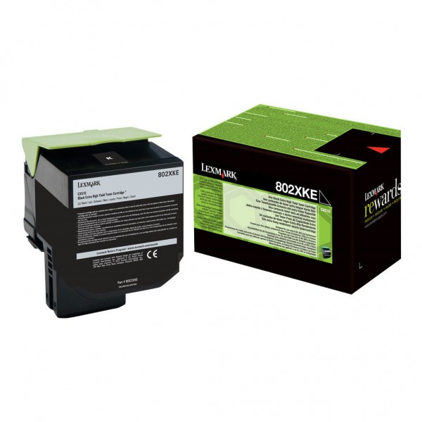 Lexmark Toner 80C2XKE black