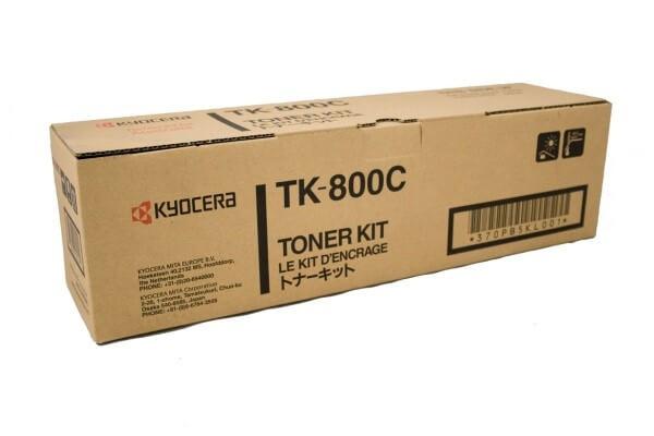 Kyocera Toner TK-800C cyan - reduziert