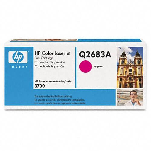 Original HP Color Laserjet Toner Q2683A magenta - reduziert