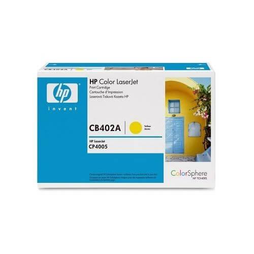 Original HP Color Laserjet Toner CB402A yellow - reduziert