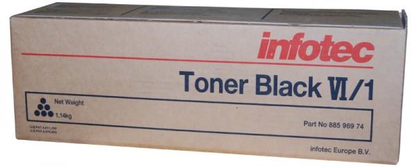 Original Infotec Type VI/1 Toner 88596974 black - reduziert