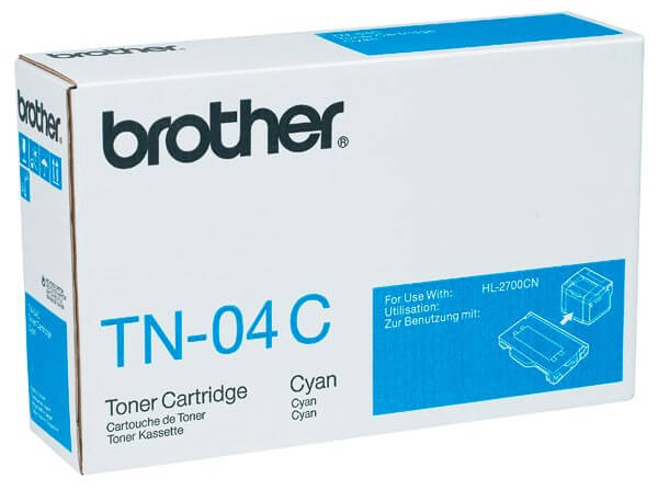 Original Brother Toner TN-04C cyan - Neu & OVP