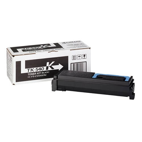 Original Kyocera Toner TK-540K black - Neu & OVP
