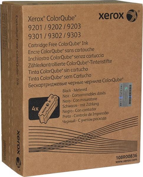 Orig. Xerox ColorQube Tintenstifte 108R00836 black - C-Ware