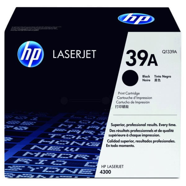 HP Laserjet Toner - Q1339A black - reduziert