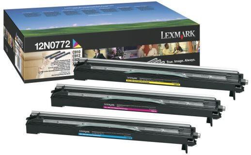 Original Lexmark Fotoleiter 12N0772 color - C-Ware