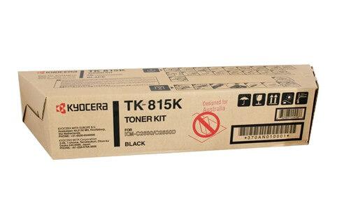 Original Kyocera Toner TK-815K black - reduziert