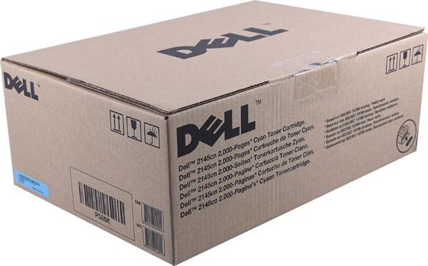 Original Dell P586K Toner 593-10373 cyan - Neu & OVP