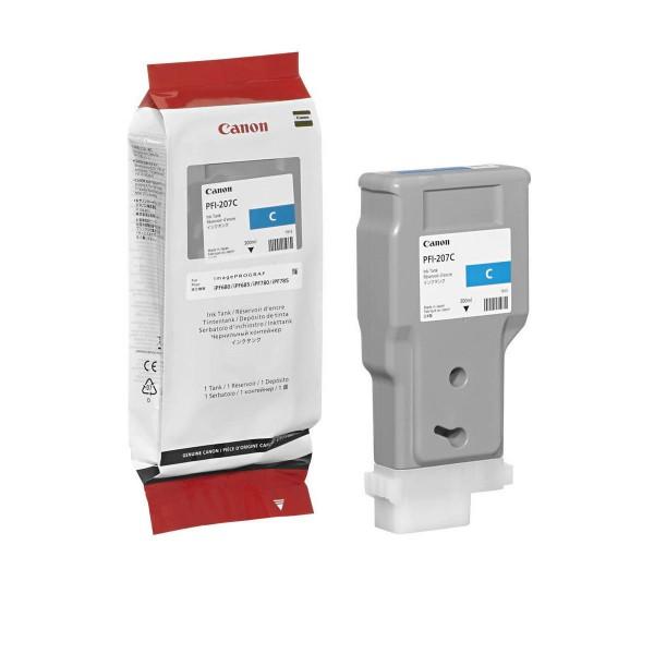 Canon Tinte PFI-207C cyan 8790B001