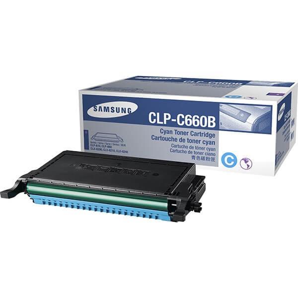 Original Samsung Toner CLP-C660B cyan - reduziert