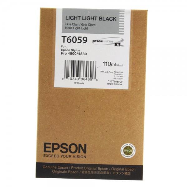 Epson T5649 Tinte C13T605900 light black