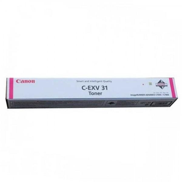 Original Canon Toner C-EXV31 Toner 2800B002 magenta - Neu & OVP