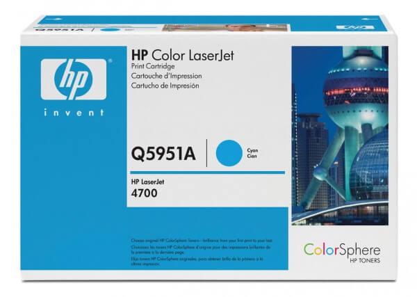 HP Color Laserjet Toner Q5951A cyan - Neu & OVP