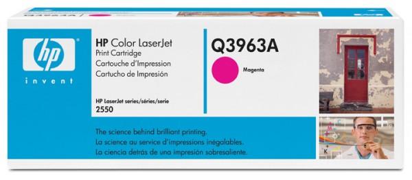 HP Color Laserjet Toner Q3963A magenta