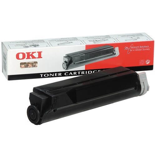 Original OKI Toner 40433203 Type 5 black - Neu & OVP