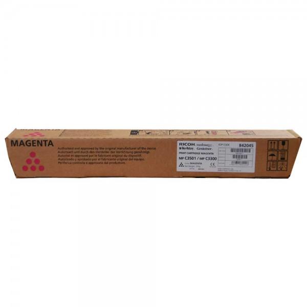 Original Ricoh MP C2800/3300 Toner 842045 magenta - NEU & OVP