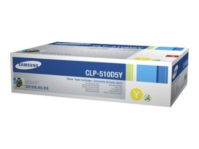 Samsung CLP Toner CLP-510D2Y yellow